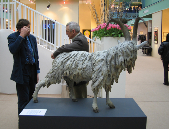 Old English Billy Goat, Olympia fine art and antiques fair, 2004